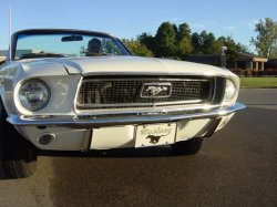 1968 Mustang Front View