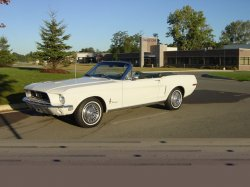 1968 Mustang Driver Side