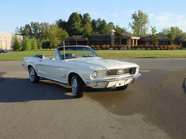 1968 Mustang Passenger Side